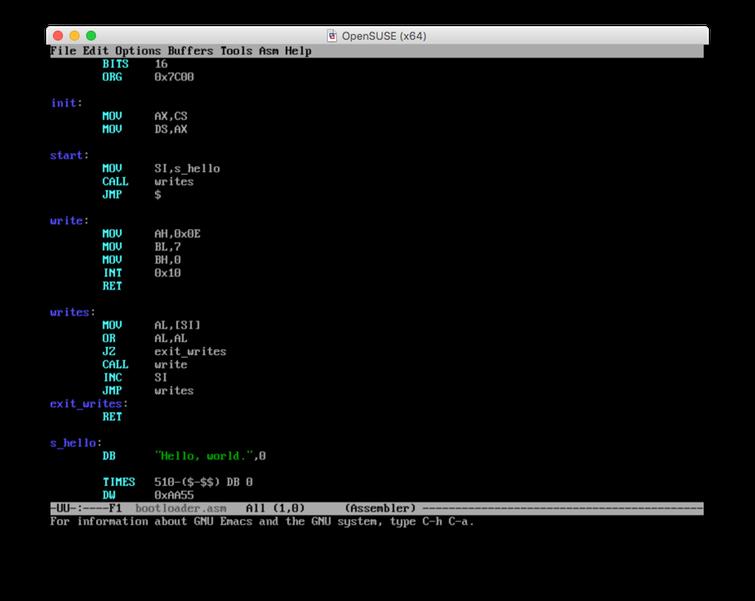 IBM PC Boot Loader | DesertPenguin org | Andrew J  Brehm