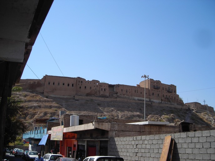 The Erbil Citadel, the oldest part of the city