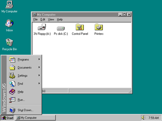 Windows-Start-Button-is-14-Years-Old-as-Is-Windows-95-3